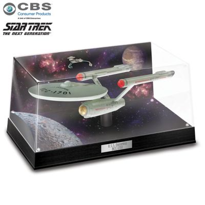 STAR TREK Illuminated Diorama Sculpture Collection by