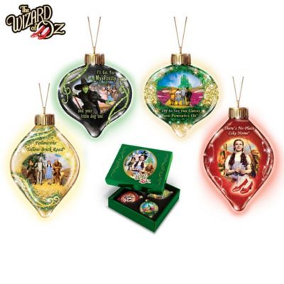 THE WIZARD OF OZ Ornament Collection by