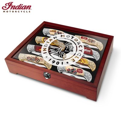 Indian Motorcycle Legacy Knife Collection by