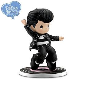 Precious Moments Elvis Rockin' Hit Songs Figurines