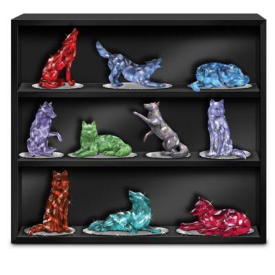 Blake Jensen Rarest Gem-Inspired Wolf Figurine Collection by