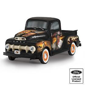 John Wayne Commemorative Classic Ford Truck Sculptures