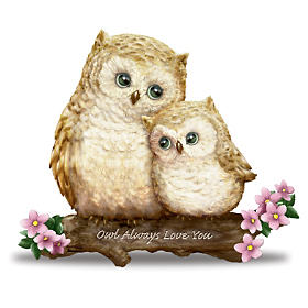 """Kayomi Harai """"You're Such A Hoot"""" Owl Figurine Collection"""