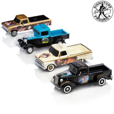Elvis Tribute 1:36-Scale Sculpted Ford Truck Collection by
