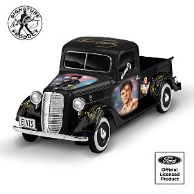 Elvis Tribute 1:36-Scale Sculpted Ford Truck Collection