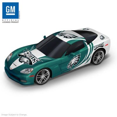 Philadelphia Eagles Muscle Car Sculpture Collection by