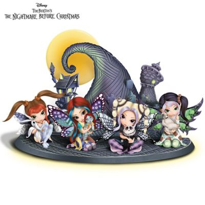 Jasmine Becket-Griffith Nightmare Before Christmas Figurines by