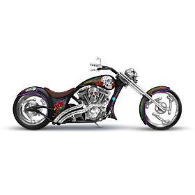 """""""Spirit Riders"""" Sugar Skull Bike Sculpture Collection"""