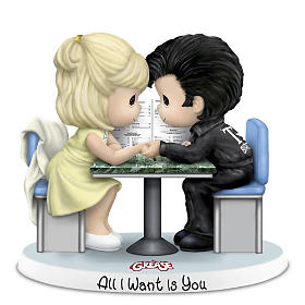 "Precious Moments ""Grease Is Still The Word"" Figurines"