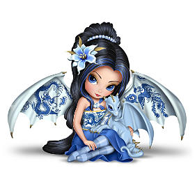 Jasmine Becket-Griffith Blue Willow Beauty Fairy Collection