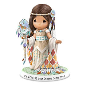 Native American-Inspired Porcelain Figurines