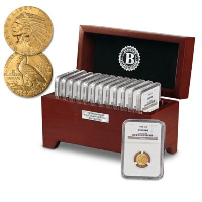 The Complete U.S. Indian Head Gold Quarter Eagle Collection by