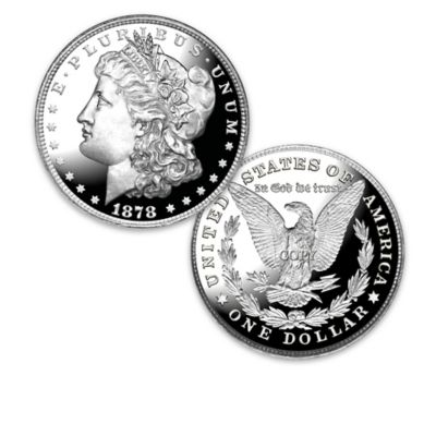 The 100 Greatest U.S. Morgan Varieties Proof Coin Collection by