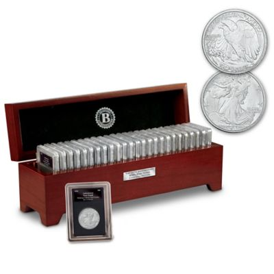 75th Anniversary WWII Years Coin Collection With Display Box by