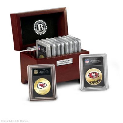 The Complete NFL Legal Tender Golden Dollar Collection by