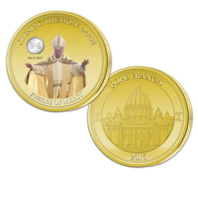 Pope Francis Jubilee Of Mercy Commemorative Coin Collection by