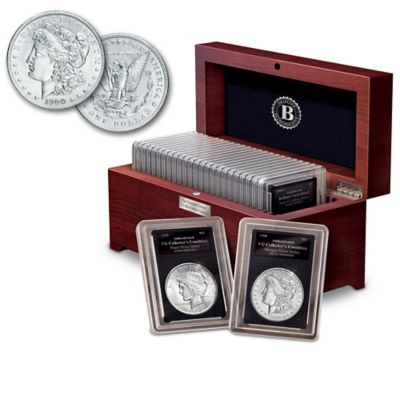20th Century U.S. Silver Dollar Coin Collection by