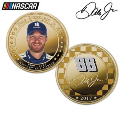 Dale Earnhardt Jr. Legacy Proof Coin Collection With Display by