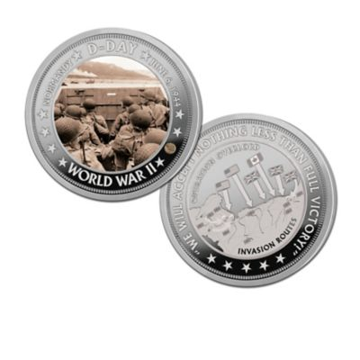 The 75th Anniversary Of D-Day Proof Coin Collection by