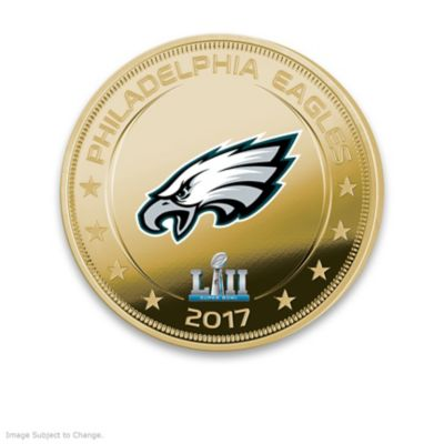 Eagles Super Bowl LII Champions Legal Tender Dollar Coins by