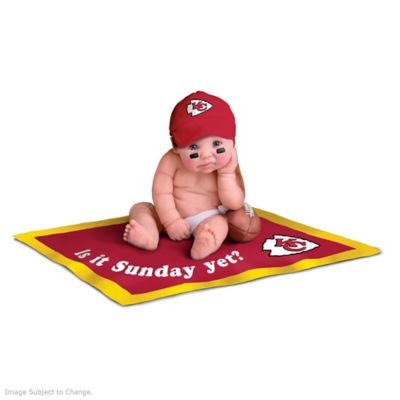 separation shoes e8bf7 14232 NFL Licensed Kansas City Chiefs #1 Fan Baby Doll Collection