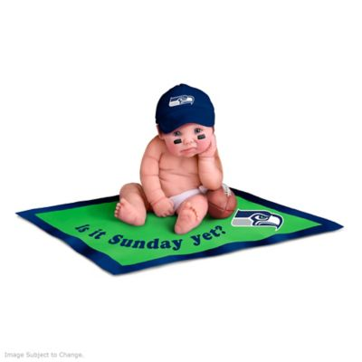 purchase cheap 6705a af05a NFL Licensed Seattle Seahawks Baby Doll Collection