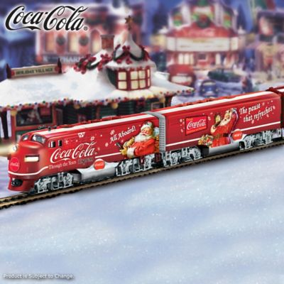 Coca Cola Christmas Express Train Collection Through The