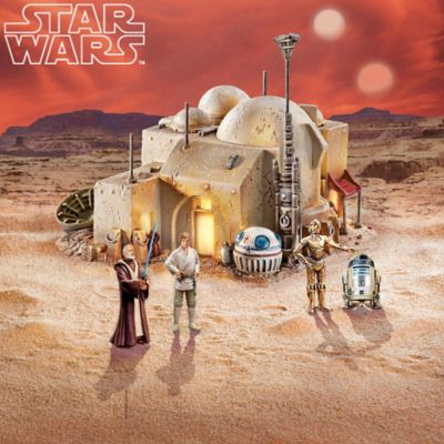 Illuminated STAR WARS Galactic Village Collection by