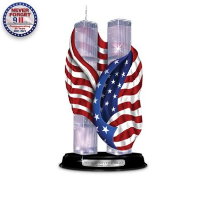 Patriotic Sculptures Honor Anniversary of September 11 by