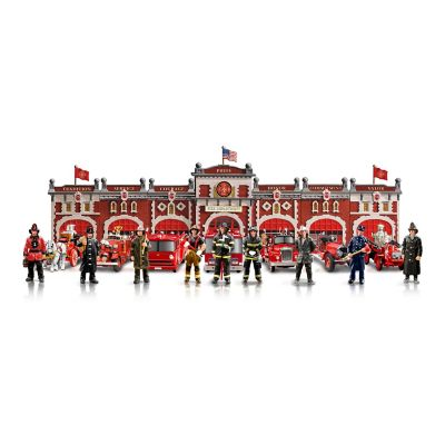 Firefighter's Tribute Historic Firehouse Collection by