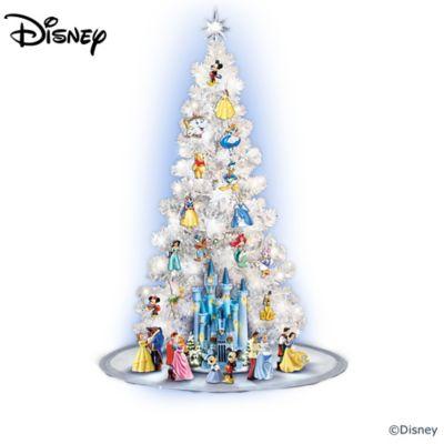 Disney Christmas Tree.The Magic Of Disney Illuminated Christmas Tree Collection
