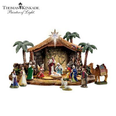 Nativities Thomas Kinkade Magnificent Blessings Nativity