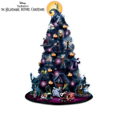 the nightmare before christmas this is halloween tabletop tree collection - Jack Skellington Christmas Tree