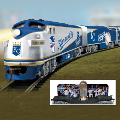 Royals 2015 World Series Champions Electric Train Collection by