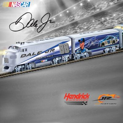 Dale Jr  HO-Scale Illuminated Electric Train Collection