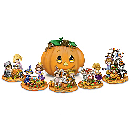 Image Precious Moments Halloween Trick Or Treat Sculpture Collection