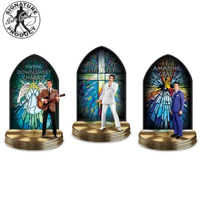 Elvis: The Gospel Truth Musical Sculpture Collection by