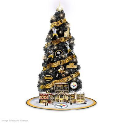 The Pittsburgh Steelers Nfl Christmas Tree Collection