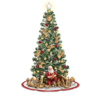 True Meaning Of Christmas Pre-Lit Nativity Tree Collection by