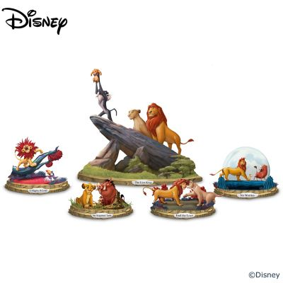 Disney The Lion King Illuminated Musical Figurine Collection by