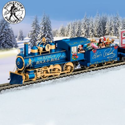 Christmas Train.Elvis Taking Care Of Christmas Express Train Collection