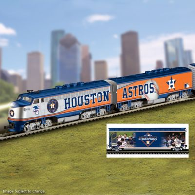 Astros World Series Champions Electric Train Collection by