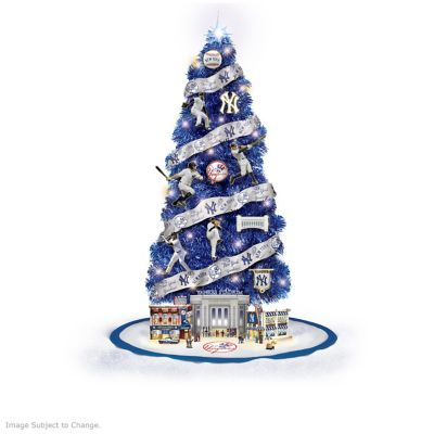 - New York Yankees MLB Illuminated Christmas Tree Collection