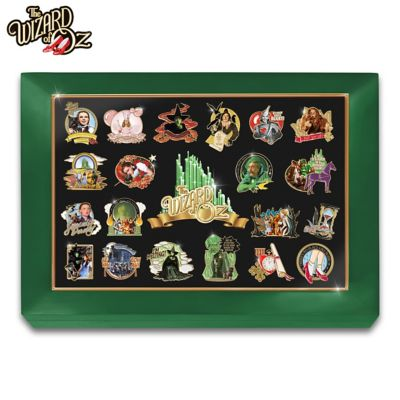 The Wizard Of Oz Masterpiece Pin Collection by