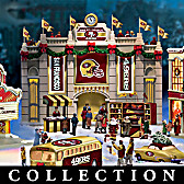 San Francisco 49ers Christmas Village Collection