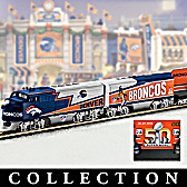 Denver Broncos Express Train Collection