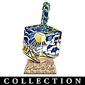 Seven Days Of Creation Dreidel Figurine Collection