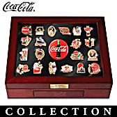 The Ultimate COCA-COLA Pin Collection
