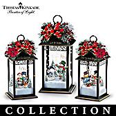 Sparkling Snowfall Tabletop Centerpiece Collection