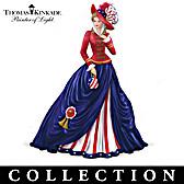 Thomas Kinkade Freedom's In Fashion Figurine Collection